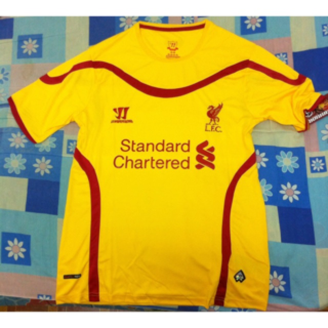 pretty nice dce2a 75fff Jersey Liverpool Away 2014/2015