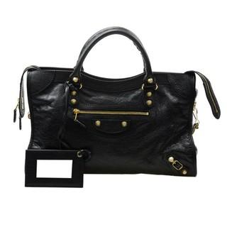 c0372bdc988 Balenciaga 281770 D94JG 1000 Giant 12 Gold City Shoulder Bag, Black |  Shopee Malaysia