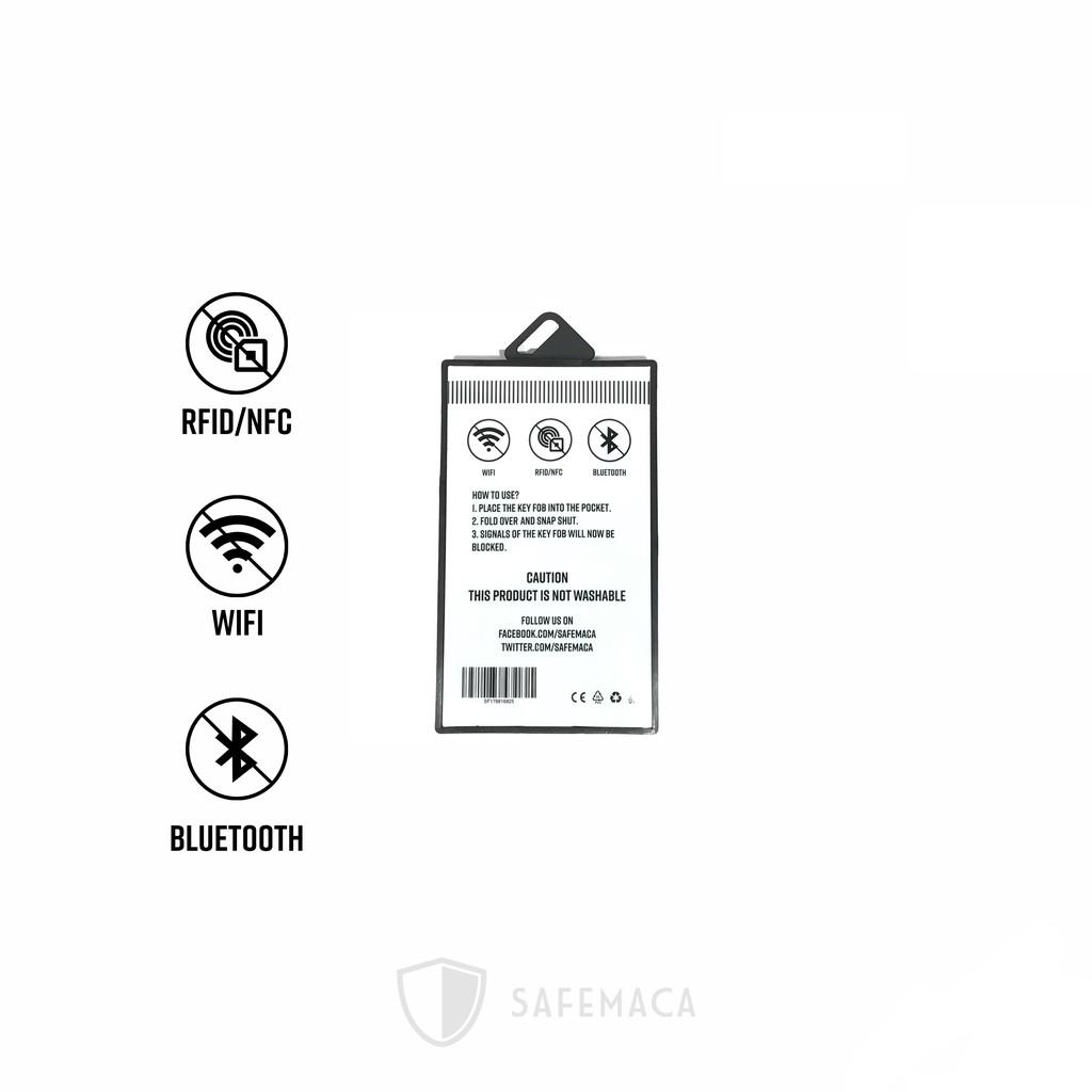 Safemaca Car Key Fob Keyless RFID Signal Blocking Protector Car