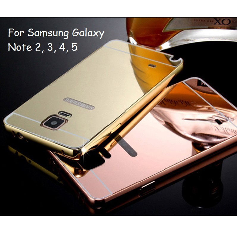 Samsung Galaxy Note 5, 4, 3, 2 Mirror Cover Case Casing | Shopee Malaysia