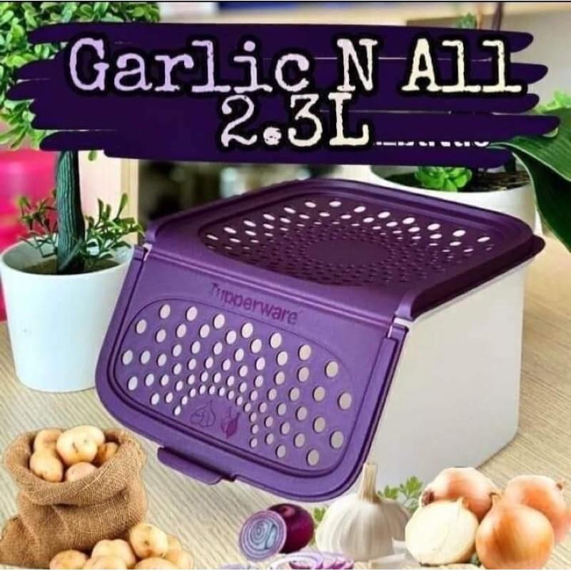 Tupperware Garlic N All Keeper 2.3L (ready stock)
