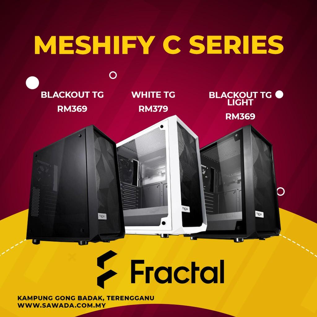 Fractal Design Meshify C Tg Series Shopee Malaysia,Modern Wood Burning Fireplace Designs