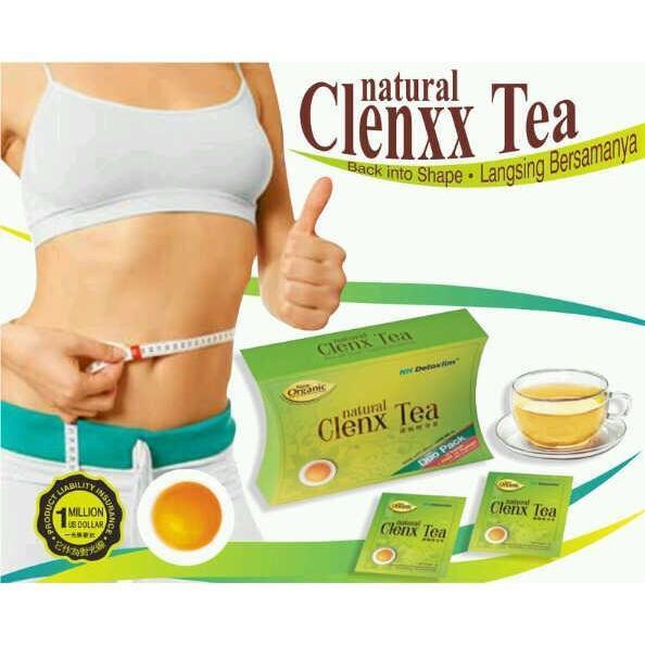 NH Detoxlim Clenx Tea Slimming Tea 5Sachets (5 Days Supply)