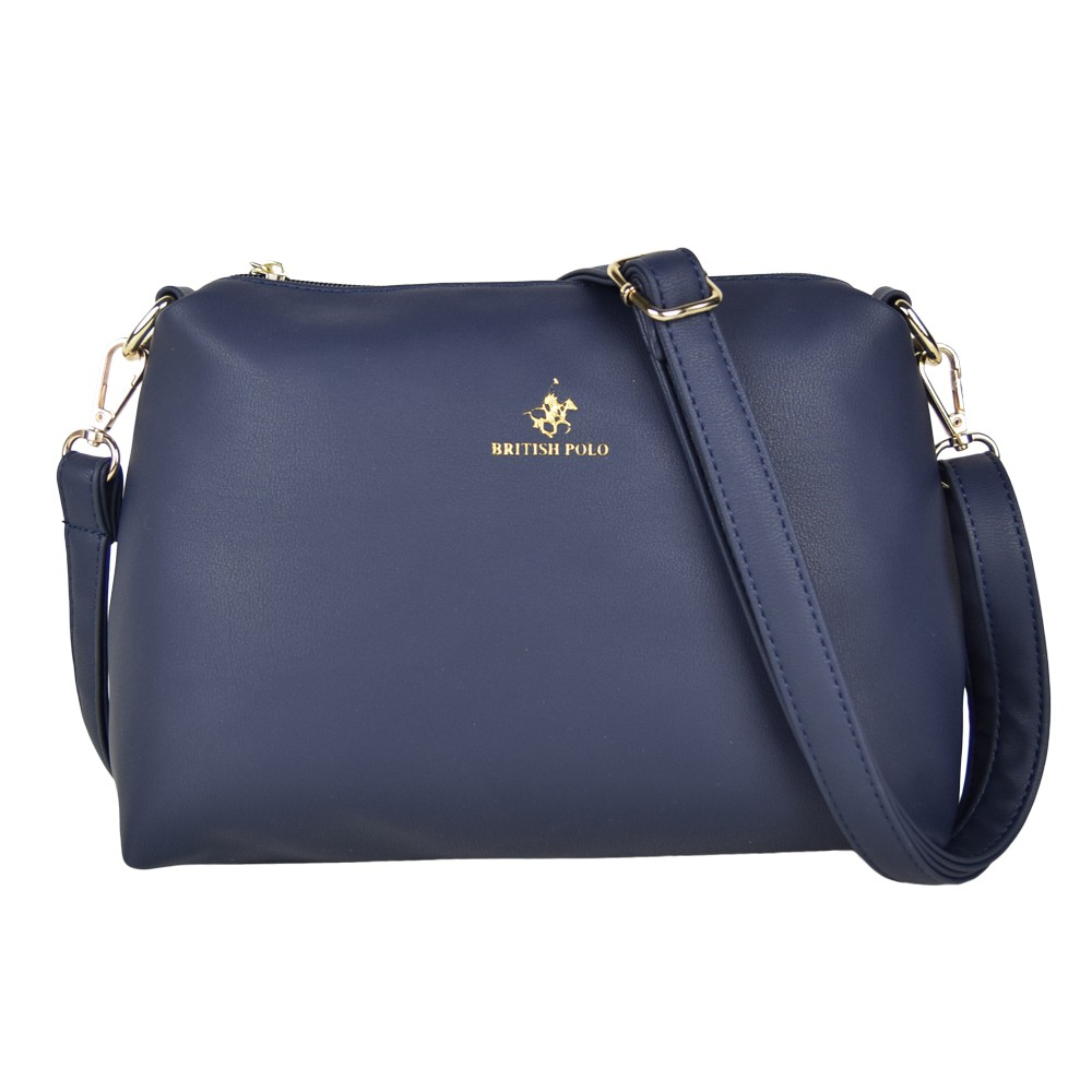 6a0f47ddef British Polo Women s PU Sling Bag
