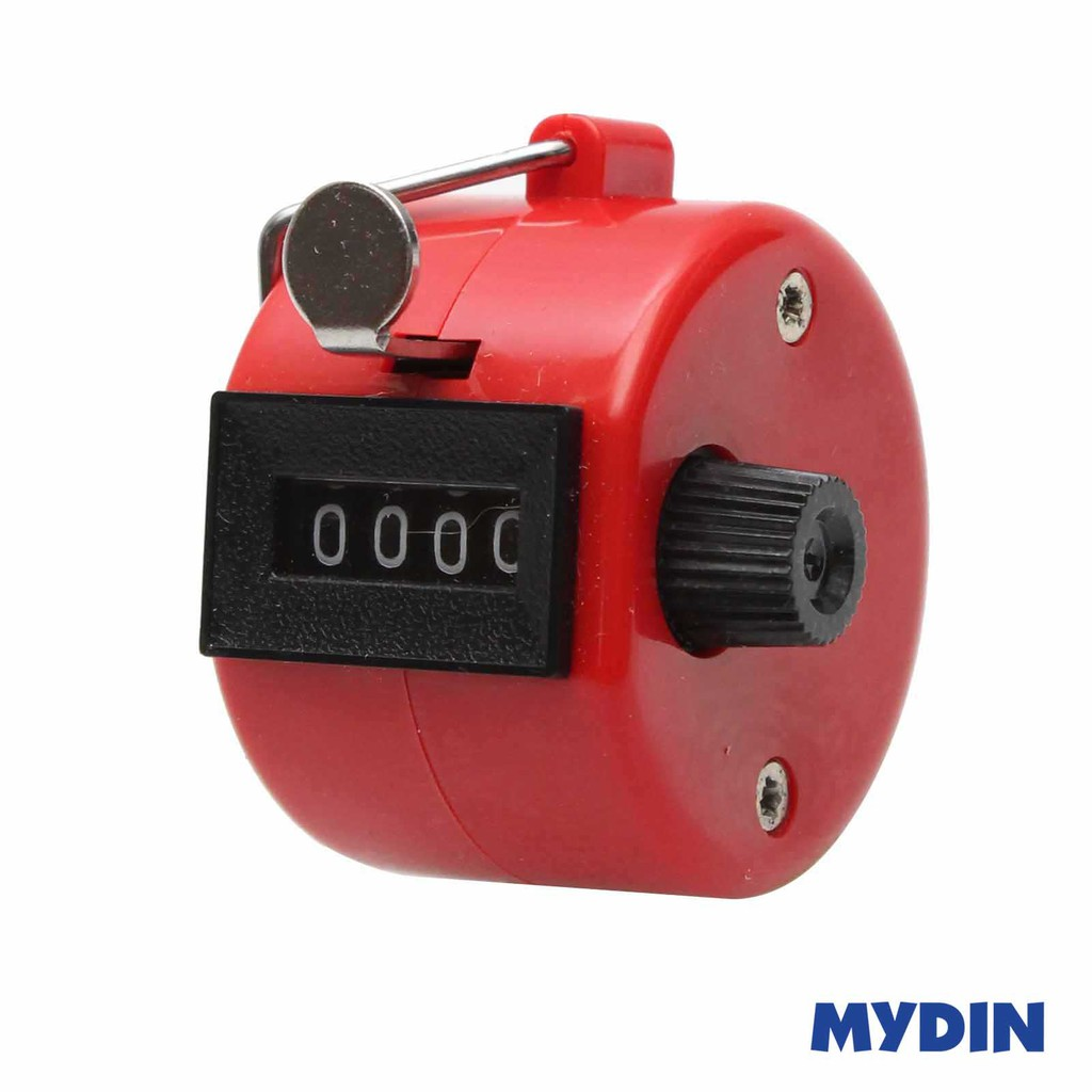 Hand Tally Counter Red