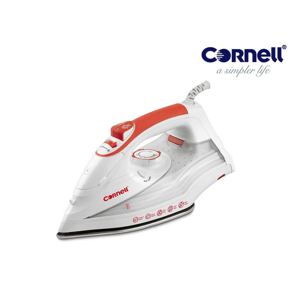 Cornell Stainless Steel Soleplate Steam Iron CSI-E220SRD