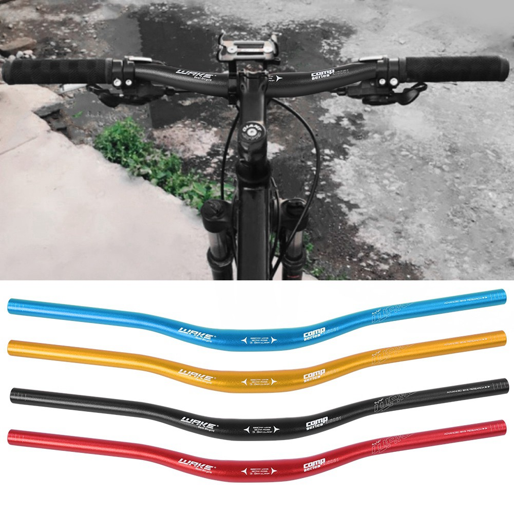 WAKE 31.8 *780mm MTB Mountain Bike Handlebar Riser bar Aluminum Handlebar 4Color