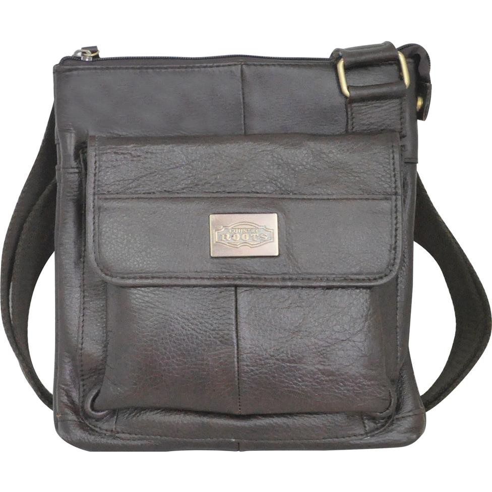 71275d3444 Extreme Classic Leather Sling Bag Dual Faces Travel Passport Bag ...