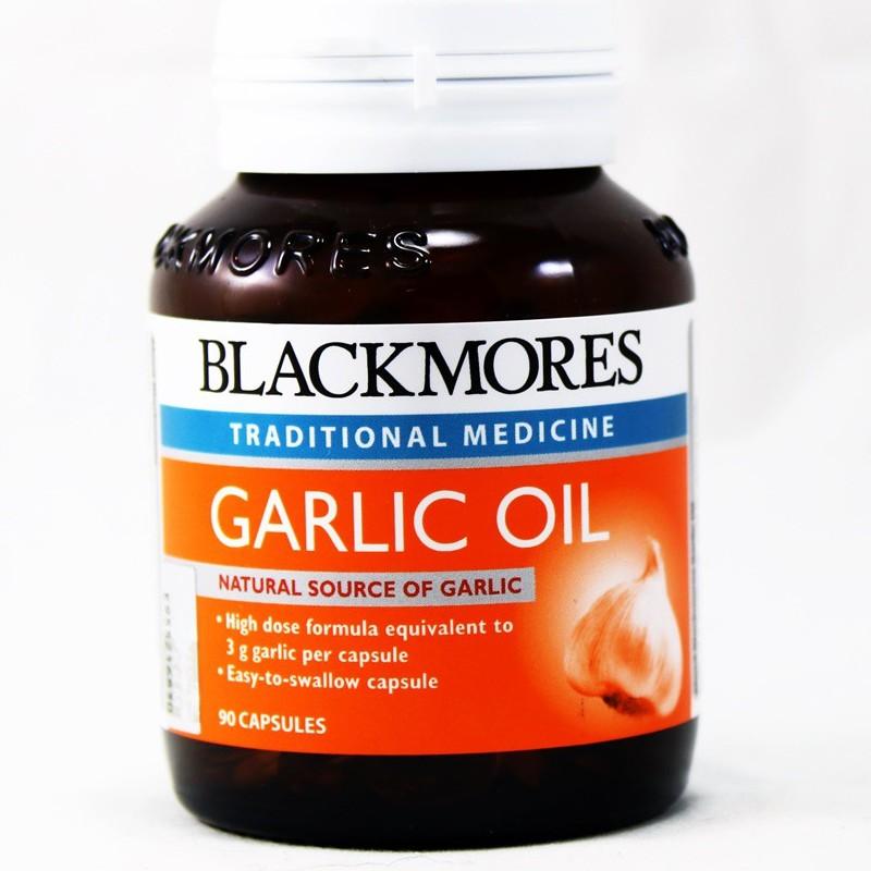 Blackmores Garlic Oil 90's