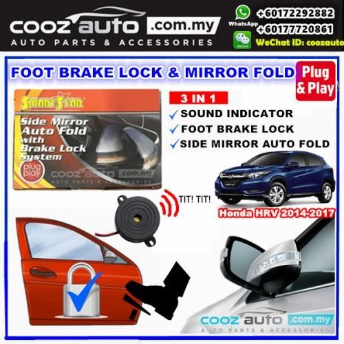 HONDA HRV Smartstar 3 IN 1 Side Mirror Auto Fold + Buzzer + Brake Lock  System