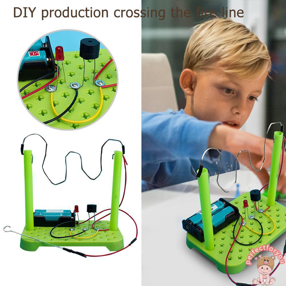 Parallel Series Circuits DIY Circuit Experiments Kids Students Science Toys