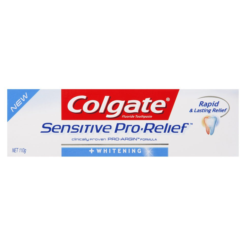 Colgate Sensitive Pro-Relief Whitening Toothpaste 110g