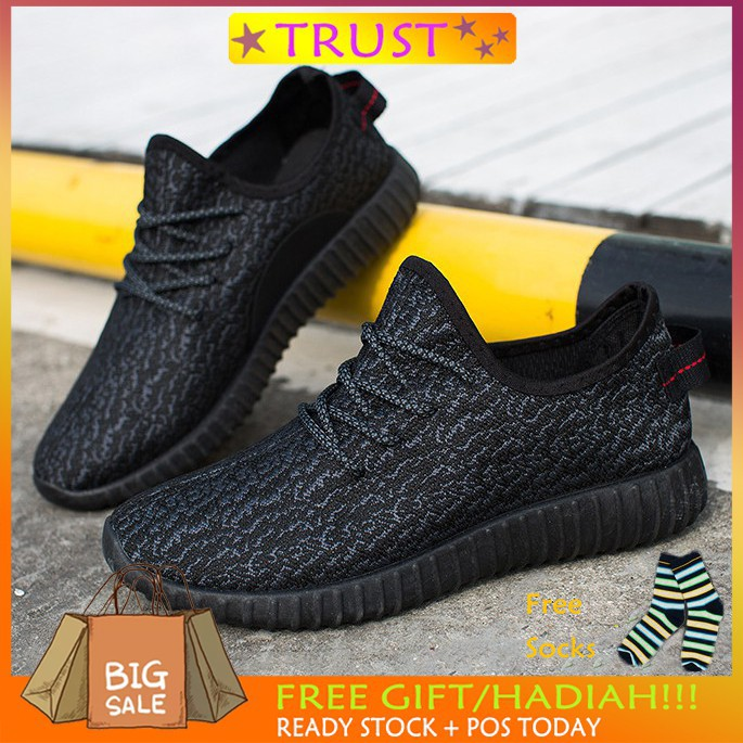 0f3c35a1453b0 Men's Fashion Casual Sneakers Outdoor Sport Running Shoes Jogging Shoes  Kasut