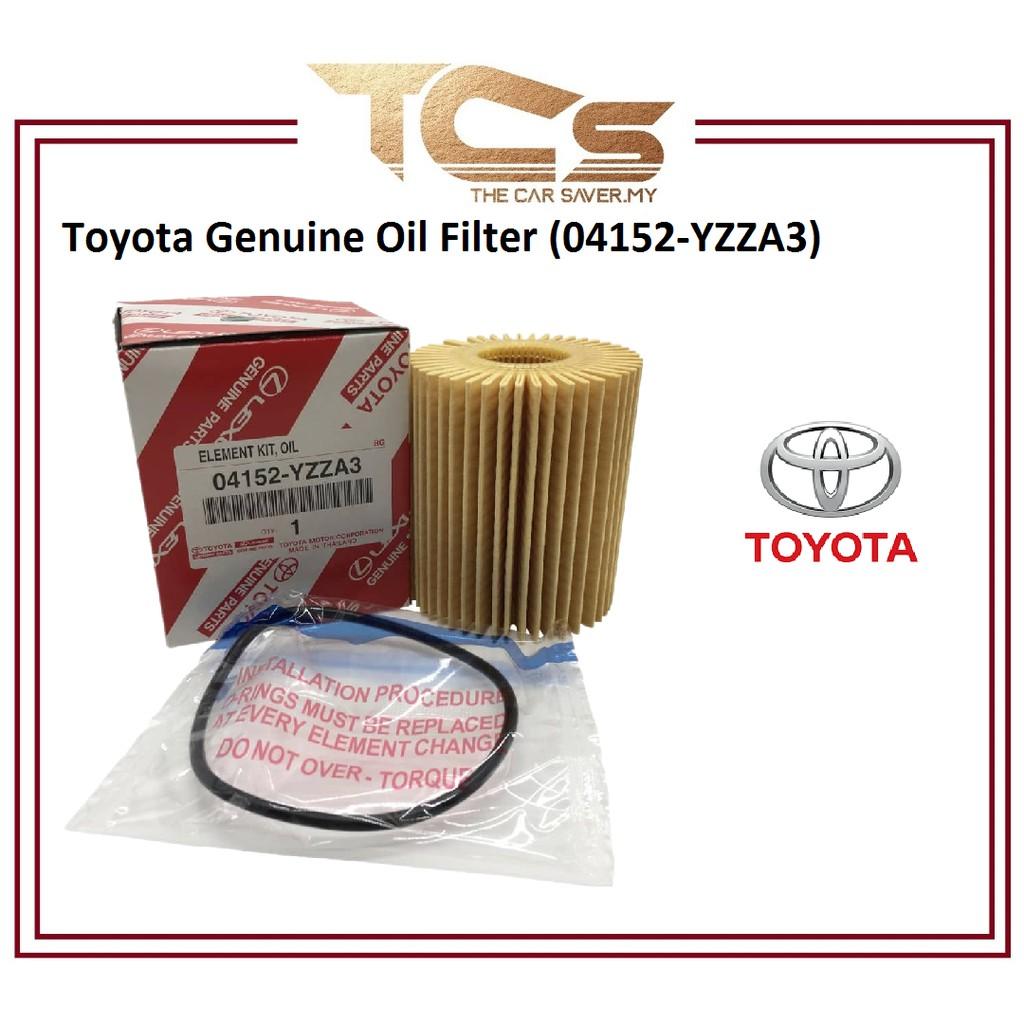 Toyota Genuine Oil Filter (04152-YZZA3)