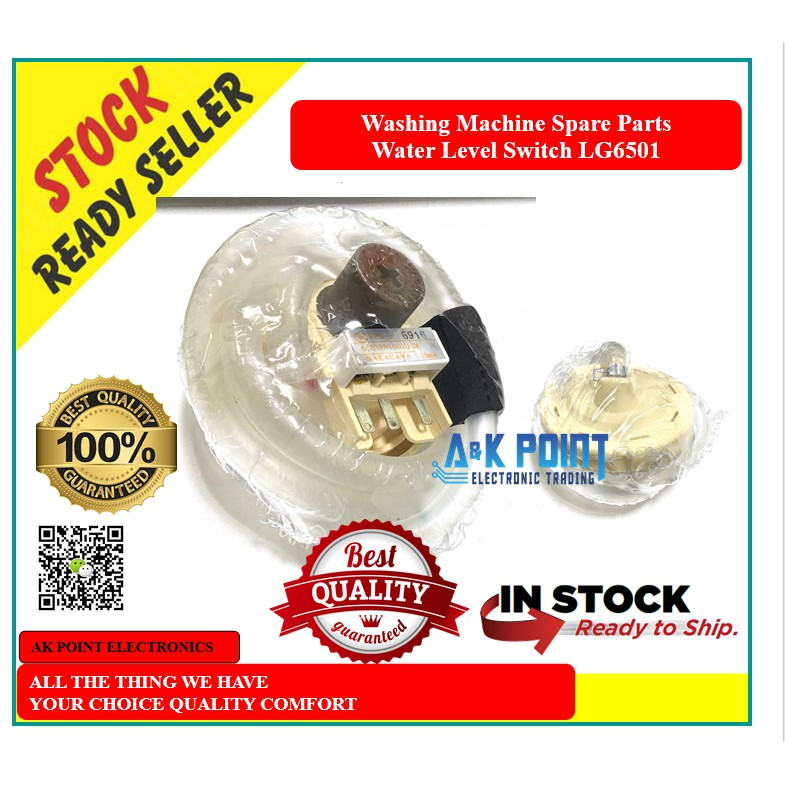 Washing Machine Spare Parts - LG6501Water Level Switch ( LG ) Ready Stock