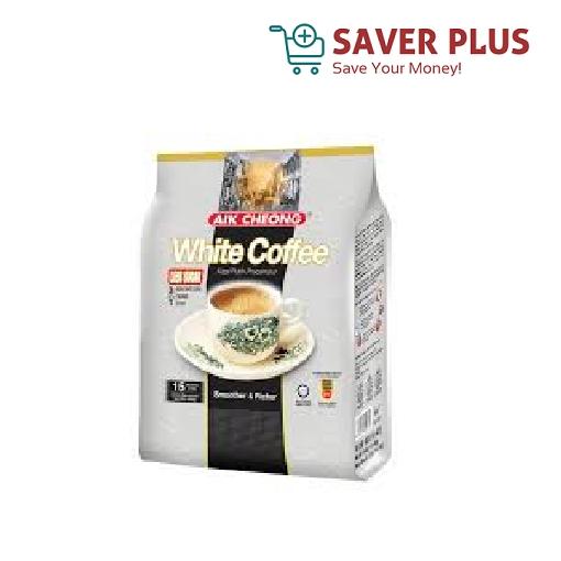 Aik Cheong White Coffee 3in1 Classic/Less Sugar 15sac x 40g