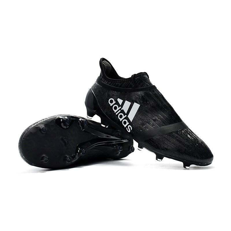 48686fe0f52 Adidas Ace 17+ Purecontrol FG Dragon Core Black Blue Soccer Shoes Football  Shoes