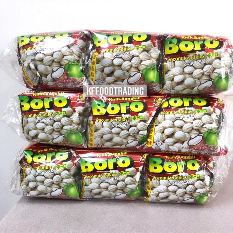 boro coconut cookies 60g x 20 bag