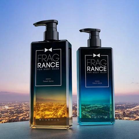 【Ready Stock】 Prime Blue Men's Fragrance Shower Gel 尊蓝法式香氛男士香水沐浴露