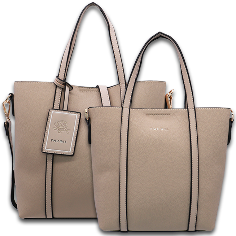 Polo Hill Coupled Merlyn Tote Bag Set PHV1-0A-239