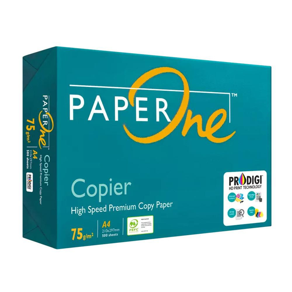 Paper One A4 75GSM 500 Sheets