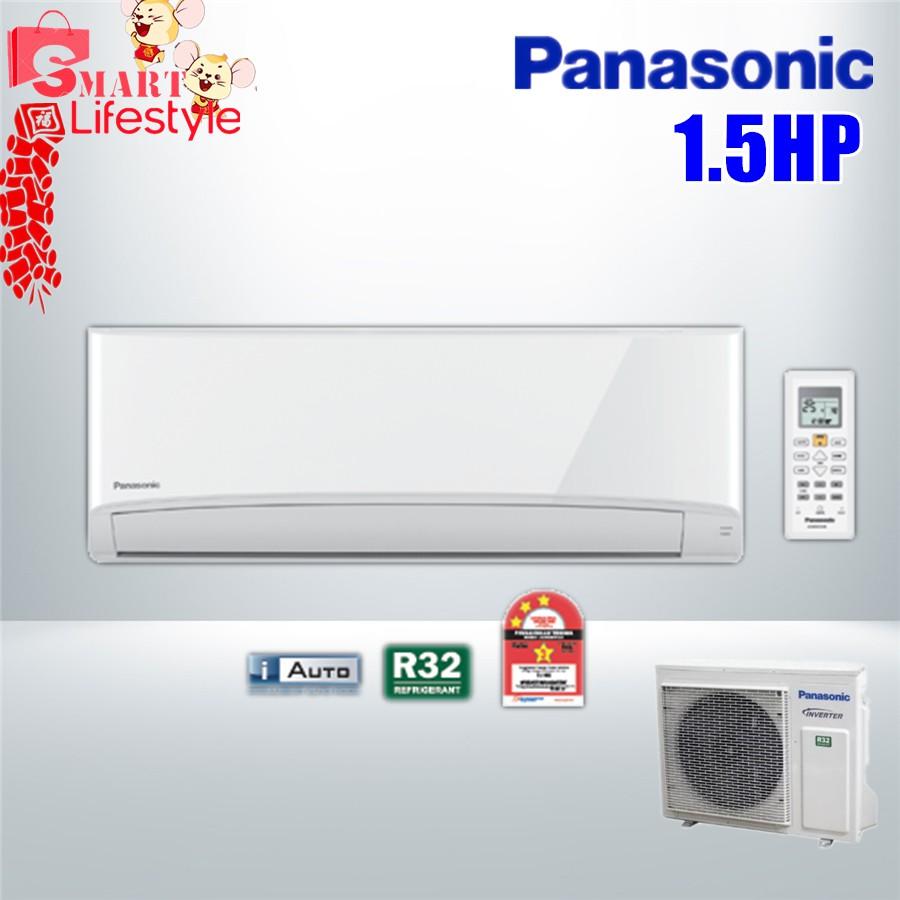 PANASONIC 1.5HP Standard Non-Inverter R32 Aero Series Air Conditioner CS-PN12VKH -1 (CU-PN12VKH-1)