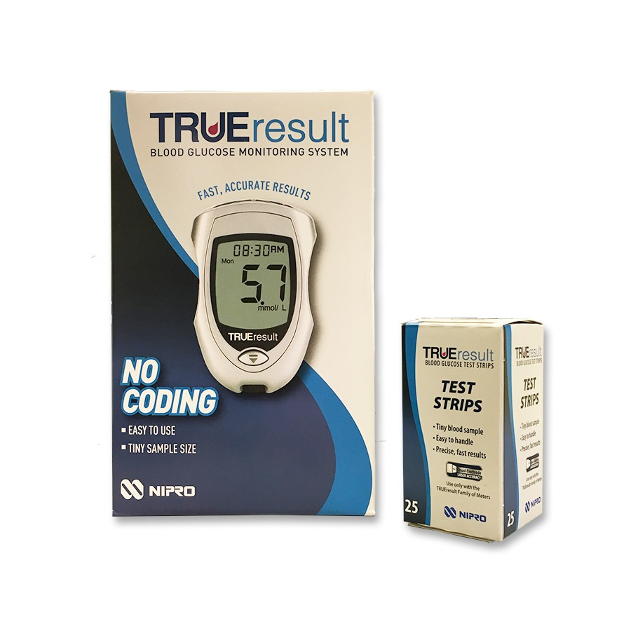TRUE result Blood Glucose Monitoring System