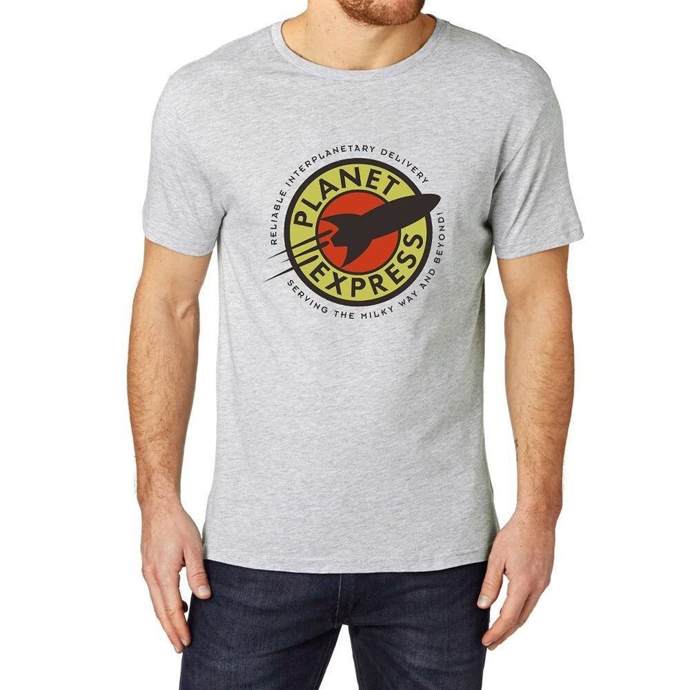 Futurama Embroidered Polo Shirts Men Shirts Mens PLANET EXPRESS