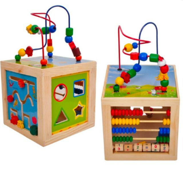 Montessori Bead Maze Learning Board