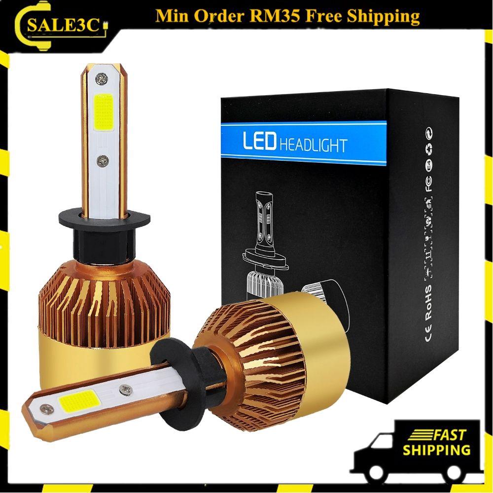 CREE LED Headlight Kit 9005 HB3 6000K White High Beam Bulb for MAZDA 3 2004-2018