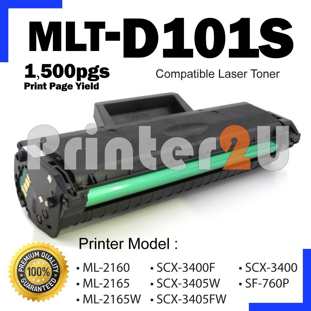 Compatible Samsung MLT-D101S MLT101 MLTd101S 101 ML2160 ML2164 ML2165  SCX3400 SCX3400F SCX3405W SCX 3400 3400F SCX-3400F