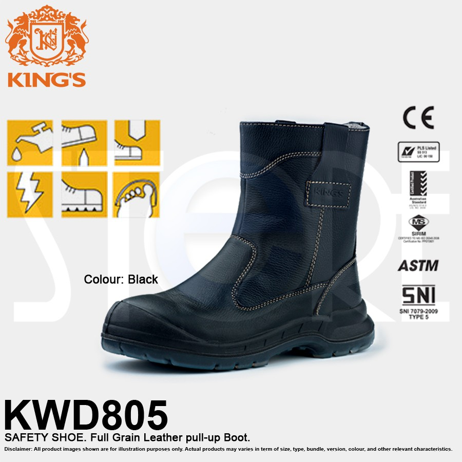 KWD805 KING S SAFETY SHOE  340a10bb46