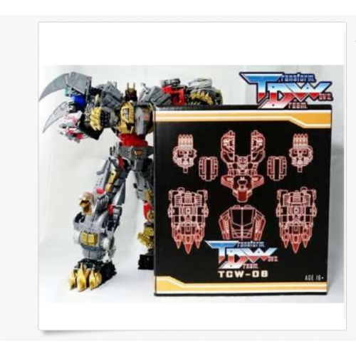 New Transform Dream Wave TCW-06 Upgrade Kit for Transformers Dinobot In Stock