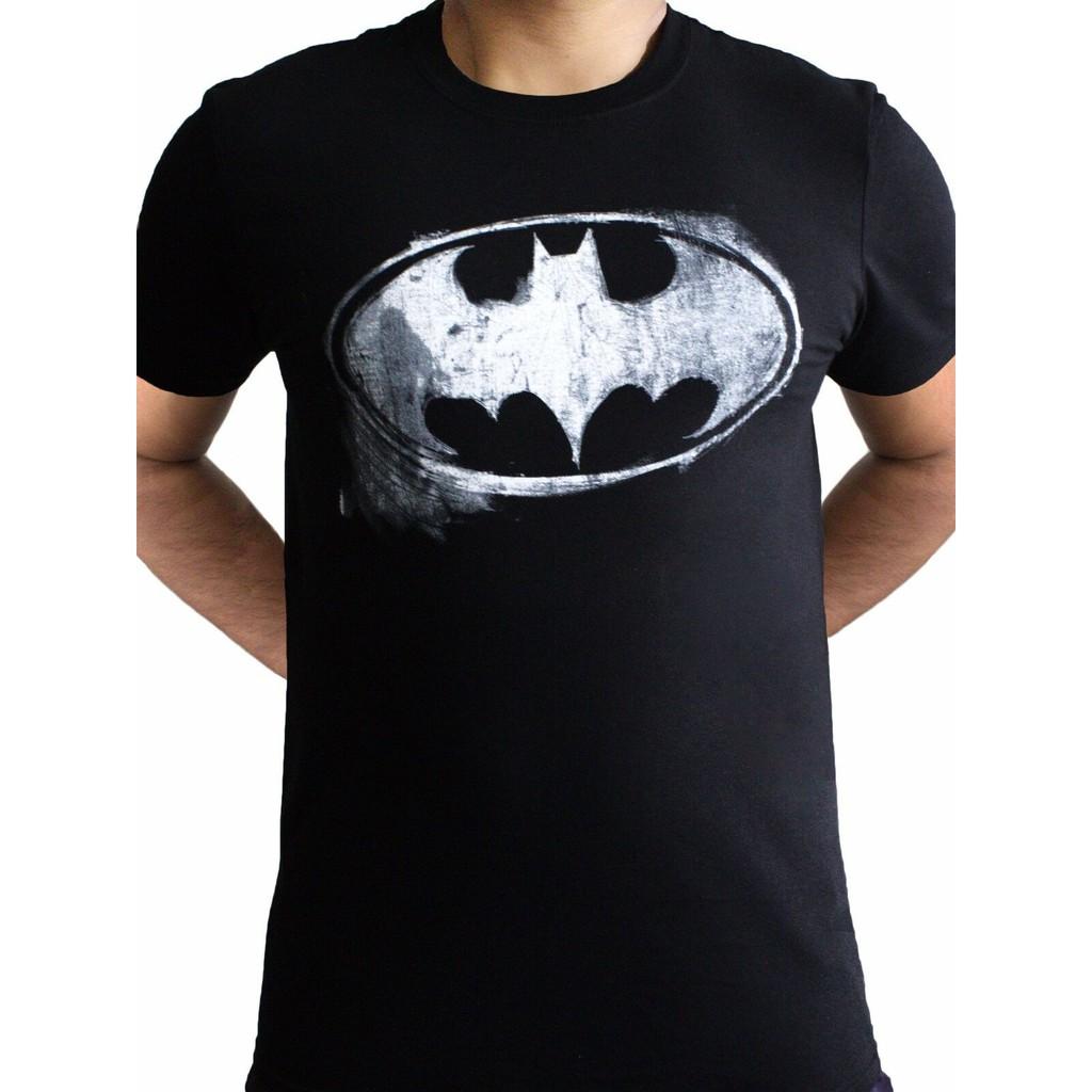 DC Comics Distressed Style Batman Face Mask Men/'s T-Shirt S-XXL