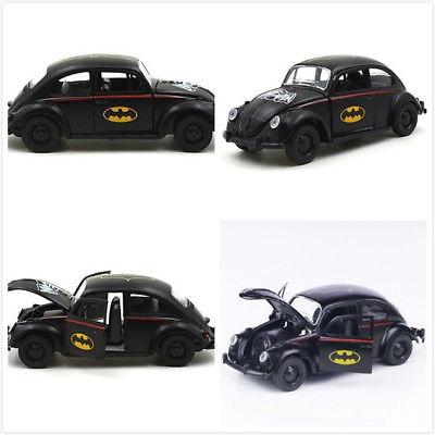 1:32 Scale Batman Diecast Black Beetle Vehicle Alloy Classic Car Model Toy Gift