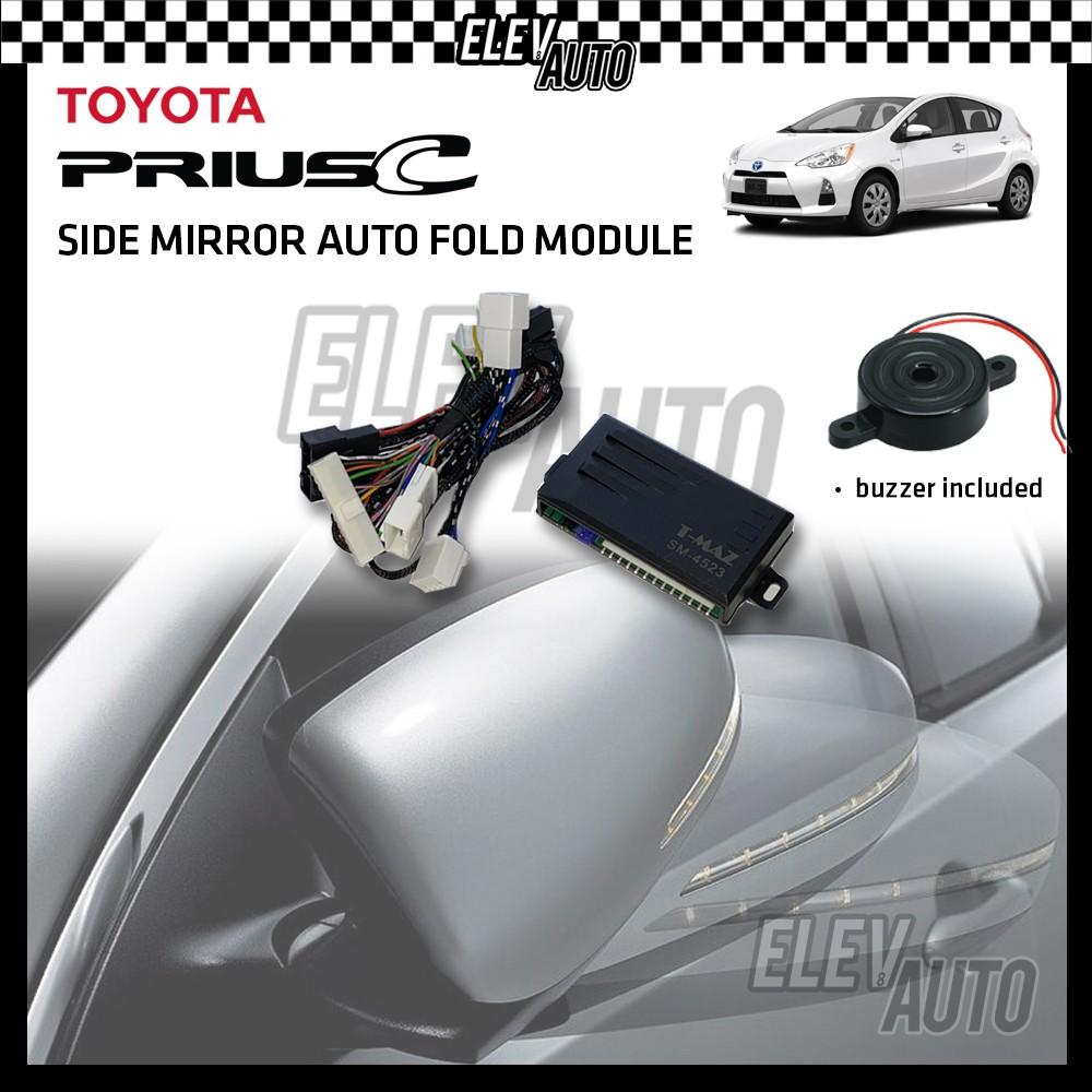 Side Mirror Auto Fold with Buzzer Toyota Prius C