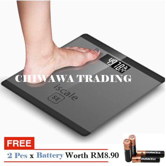 Electronic Digital Bathroom Weighing Scale Measurement Health Scale【180KG】