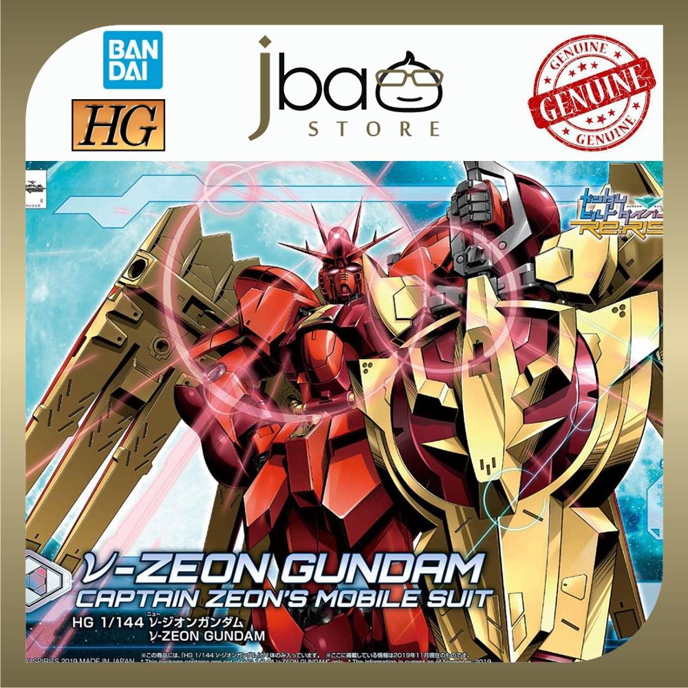 Bandai 1/144 05 V-Zeon Nu-Zeon Gundam HGBD R HG Build Divers Re:Rise Gundam Mobile Suit