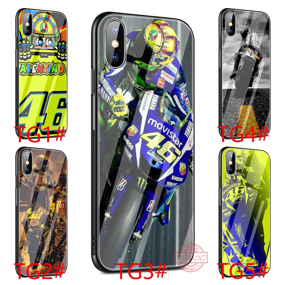 official photos e817f d862b Valentino rossi vr46 iPhone 6S 7 8 Plus X XS Max XR 5S soft Case