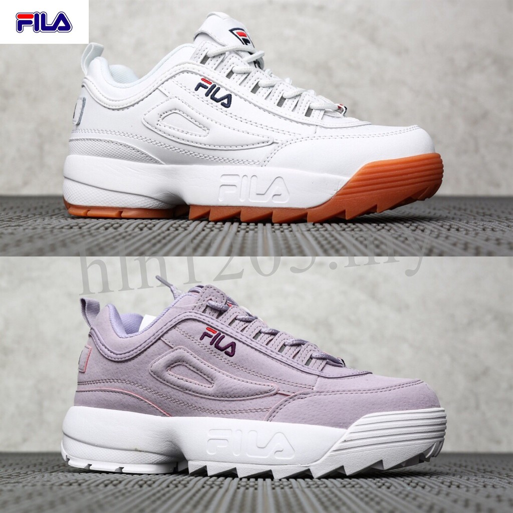 31 Colors ★★ Fila 100% Original Men and Women Thick Bottom Sports Shoes Casual Sneakers Chunky Shoes