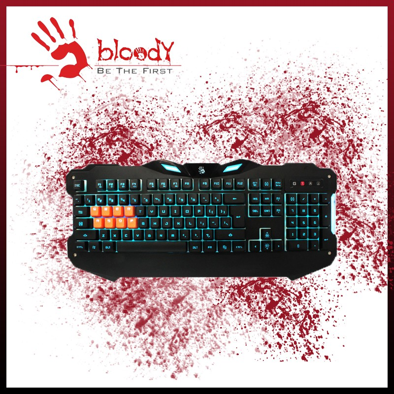 Bloody Light Strike 8-Infrared Switch Gaming Keyboard B328