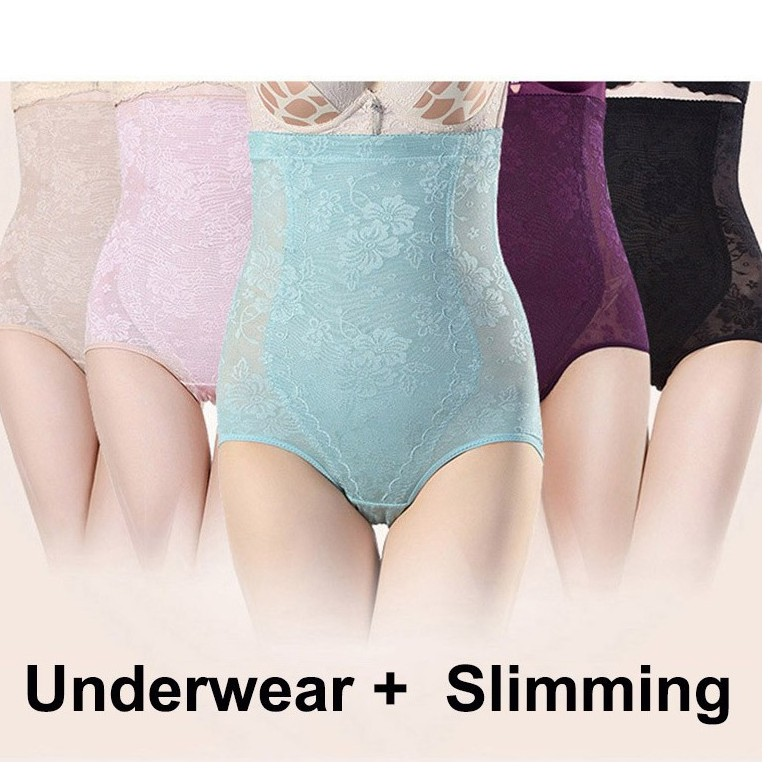 c2ad9b1983d8c ProductImage. ProductImage. Women Shapewear Underwear High Waist Panties  Slimming M L XL XXL