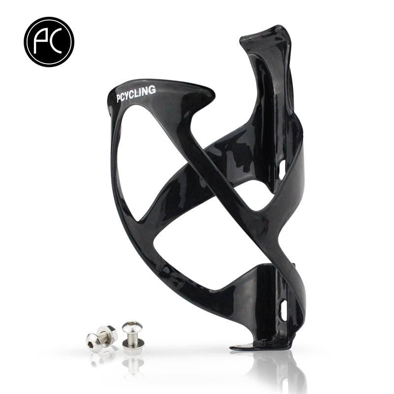 BLACK Bicycle Bottlecage Bike Bidon PRO UD Carbon Light Weight Bottle Cage