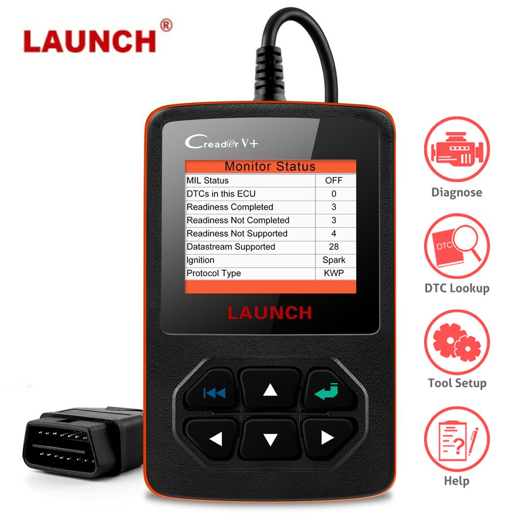Diagnostic Scanner Engine Light Clear OBD2 Code Reader for Renault Scenic I