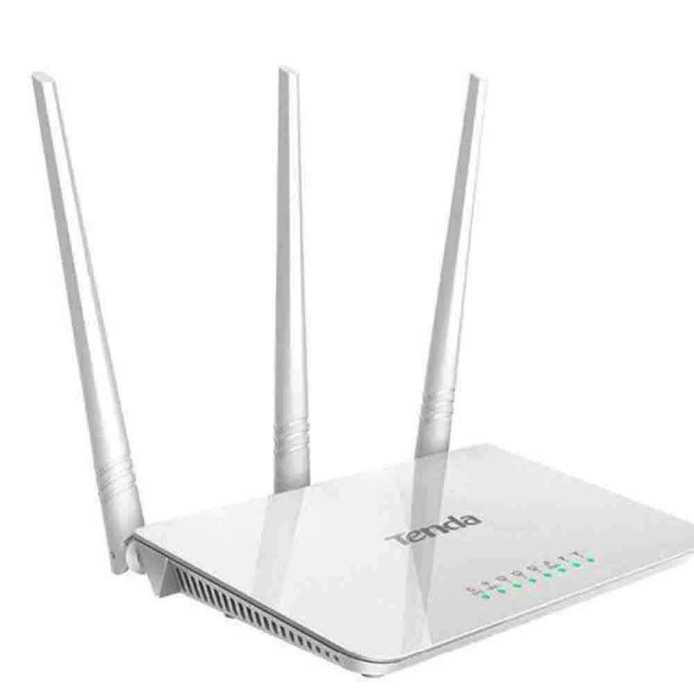 Tenda F3 300Mbps Wireless WiFi Router Wi-Fi Repeater 1 WAN+3 LAN Ports