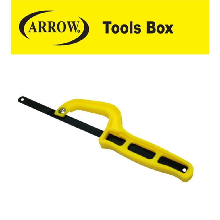 READY STOCK!! ARROW AMS10 MINI  SAW 10'' GOOD QUALITY EASY USE SAFETY MUDAH gergaji cutter