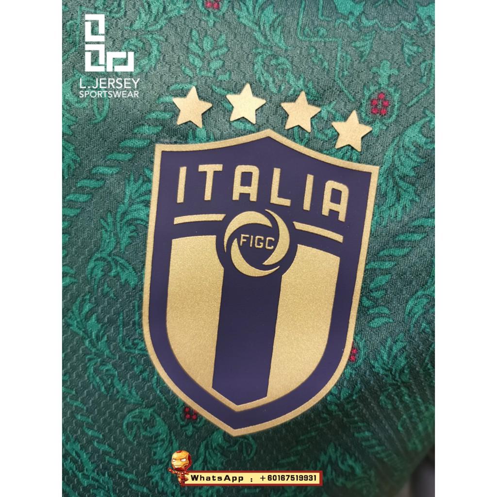 Italy Men 3rd Kit Euro Cup Season 20/21 Player Jersey