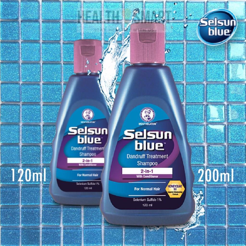 selsun blue 2 in 1 treatment shampoo 200ml shopee malaysia