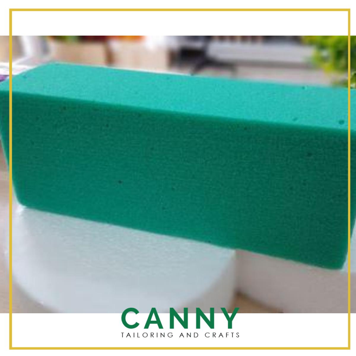 Span Bunga Kering Borong 1 Kotak 110pcs / Flora Dry Sponge Foam Hard Quality 110pcs 1 Box