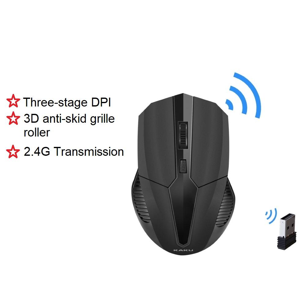 KAKU IKAKU CHENGYING and ZHUIFENG 2.4G Bluetooth Wireless USB Optical Mouse Windows 98 XP V Laptop Accurate Fast Smooth